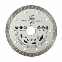 "Алмазный диск 125мм ""TURBO"" Spitce по бетону и камню, 22-806"