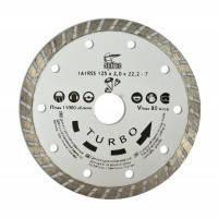 "Алмазный диск 150мм ""TURBO"" Spitce по бетону и камню, 22-809"