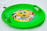 Тарелка Marmat зеленая