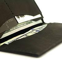 Кожаное портмоне Breast Wallet Dark, фото 1