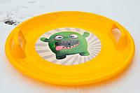 Тарелка Marmat желтая, фото 1