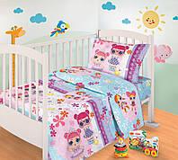 Комплект детского постельного белья Лола, ткань  бязь, фото 1