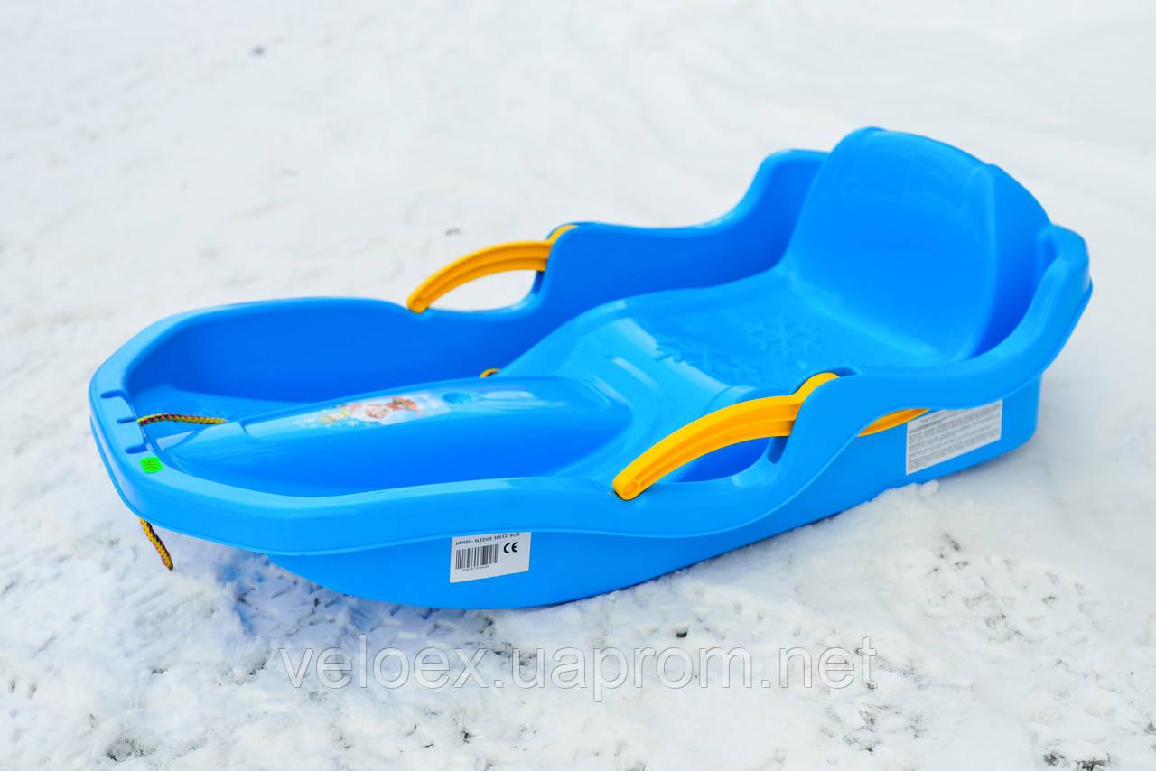 Санки Marmat Speed Bob синие
