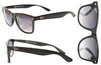 Солнцезащитные очки Ray Ban Wayfarer мужские и женские, защита UV400,матовые