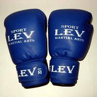 Боксёрские перчатки ЛЕВ 8 oz подростковые