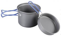 Кастрюля-кружка Tramp 0,9 л. анодированная с крышкой-сковородкой
