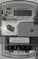 Двухтарифный однофазный счетчик НІК 2102-01.Е2Т с наклейкой