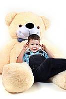 """Медведь плюшевый """"Нестор карамельный"""" 160 см"""
