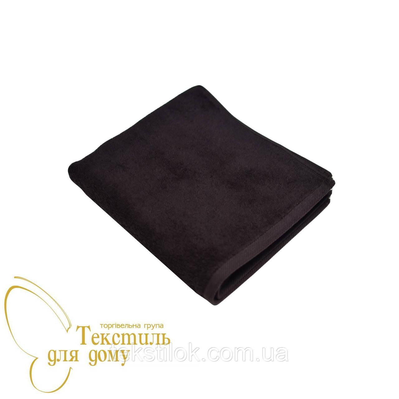Полотенце лицевое 50*100, 450 гр/м2, 16/1, горький шоколад