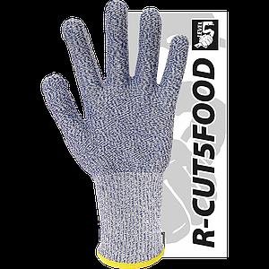 Защитные перчатки R-CUT5FOOD NW из пряжи из смеси полиэтилена высокой плотности волокон. REIS