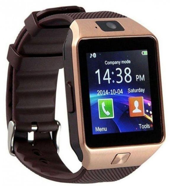 Часы Smart Watch DZ09 Gold Гарантия 1 месяц