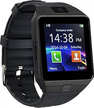 Часы Smart Watch DZ09 Black Гарантия 1 месяц, фото 2