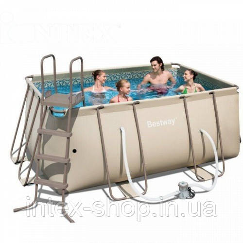 BestWay Бассейн сборный  Metal Frame Pool 56241 (412х201х122 см.)   - Интернет-магазин Intex-Shop.in.ua в Киеве