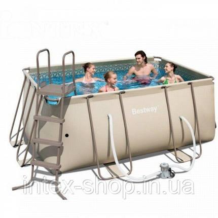 BestWay Бассейн сборный  Metal Frame Pool 56241 (412х201х122 см.)  , фото 2