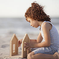 Кукольный домик на магнитах Гнома и его друзей Подарок на Новый год 2021