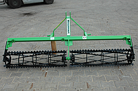 Каток для культиватора зубчатый однорядный 3,0 м. Bomet