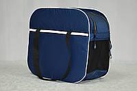 Сумка-переноска для собак и котов Сильвер синяя, фото 1