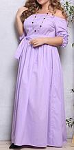 ПП Украина Стильное платье   большого размера  Джамалла  от 48 до 72 размера