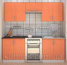 Кухни в Киеве - фасад оранж