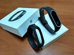 Фитнес-браслет Xiaomi Mi Band 2 (Black) ОРИГИНАЛ + ремешок (Black/gray Nike) Гарантия 3 месяца