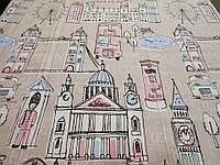 """Ткань для пошива постельного белья бязь Соло Лондон / """"Чарівна Ніч"""", фото 1"""