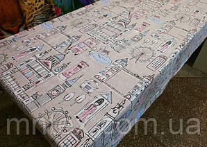 """Ткань для пошива постельного белья бязь Соло Лондон / """"Чарівна Ніч"""""""