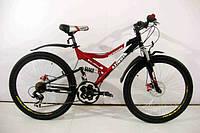 Горный двухподвесный велосипед Azimut Redhawk D 26''