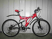 Горный двухподвесный велосипед AZIMUT FUSION 26 FR-D