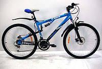 Подростковый двухподвесный велосипед Azimut Ultimate D 26''