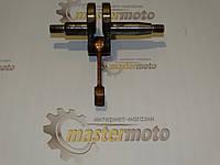 Коленвал для китайской мотокосы 1E34F с диаметром поршня 34 мм., фото 1