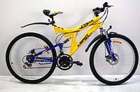 Горный двухподвесный велосипед Azimut Power D 26''