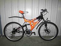 Горный двухподвесный велосипед Azimut Shock D 26''