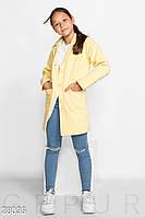 Пальто детское из кашемира (4 цвета) - Желтый KL/-260