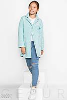 Пальто детское из кашемира (4 цвета) - Голубой KL/-260