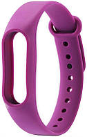 Ремешок UWatch Replacement Silicone Band For Xiaomi Mi Band 2 Purple, фото 1