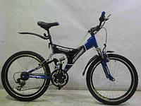 Горный двухподвесный велосипед Azimut SPRINT-26 GV