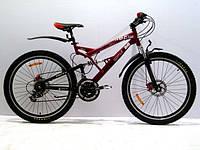 Горный двухподвесный велосипед Azimut Rock 26 GD