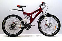 Горный двухподвесный велосипед Azimut Power GD 26''