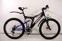 Горный двухподвесный велосипед Azimut Blackmount GD 26''