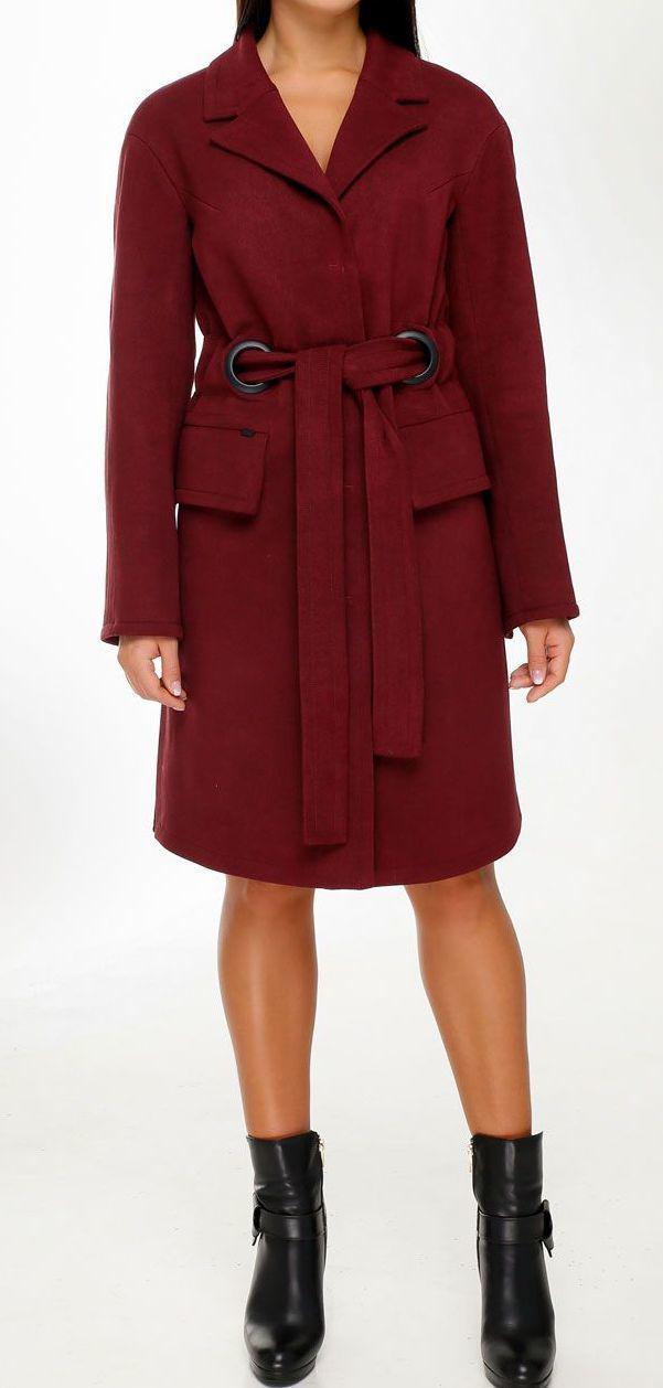 ПП Украина Стильное пальто  Мадлен     от 44 до  58 размера