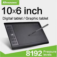 Графический планшет 10Moons 1060Plus