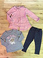 Набор-тройка для девочек оптом, Grace, 1-5 лет., арт. G82699, фото 3