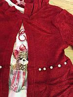 Набор-тройка для девочек оптом, Grace, 1-5 лет., арт. G82699, фото 4