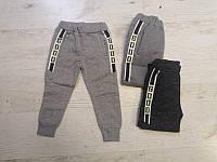 Спортивные утепленные штаны для мальчиков оптом, Mr.David, 98-128 см,  № CSQ-52888, фото 1