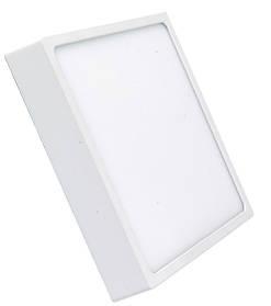 Светодиодный cветильник накладной Slim SL-466 18W 4000K квадратный белый Код.59349