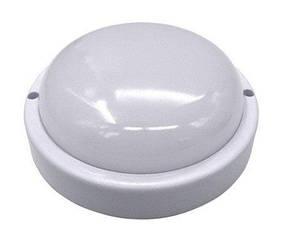 Светодиодный светильник для ЖКХ SL100/1 8W накладной 6000K круглый IP65 Код.59350