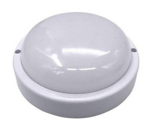 Светодиодный светильник для ЖКХ SL100/1 8W накладной 6000K круглый IP65 Код.59350, фото 2