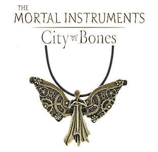 Кулон ангел из шестеренок Город Костей Орудия Смерти