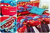 Комплект дитячої постільної білизни Тачки Маквин 2, тканина ранфорс