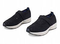 Мега стильные и удобные женские кроссовки со стразами , фото 1